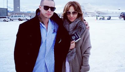 Casper Smart & Jennifer Lopez