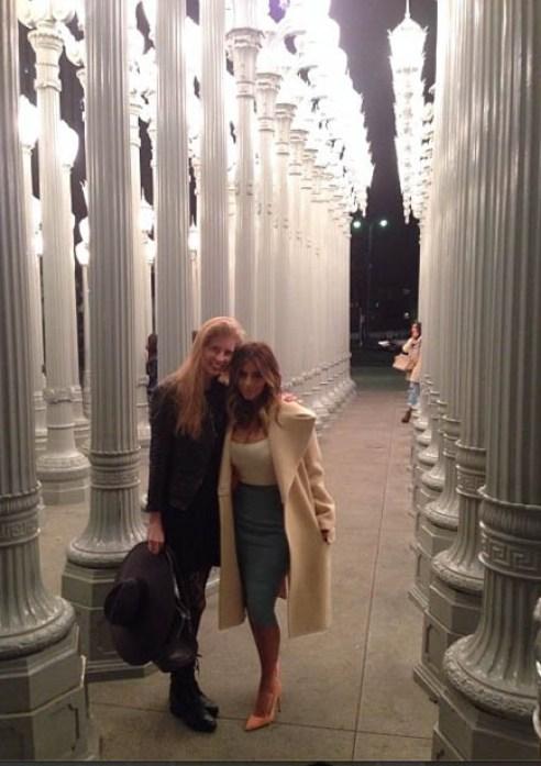 Kim Kardashian & Laura Arrillaga-Andreessen
