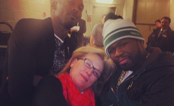Kobe Bryant, Meryl Streep & 50 Cent