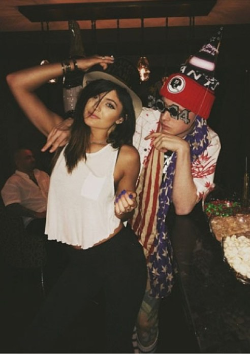 Kylie Jenner & friend