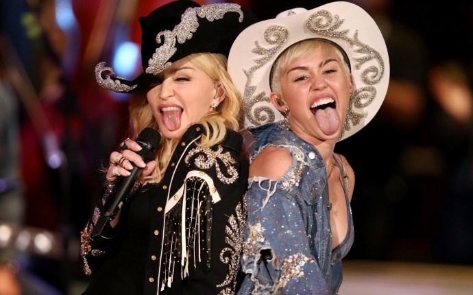 Madonna & Miley Cyrus