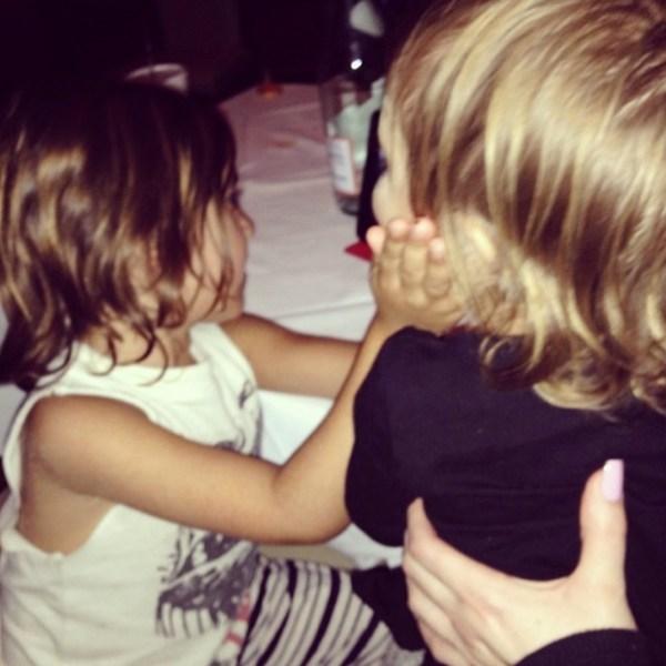 Mason & Penelope Disick