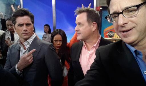 John Stamos, Rihanna, Dave Coulier & Bob Saget