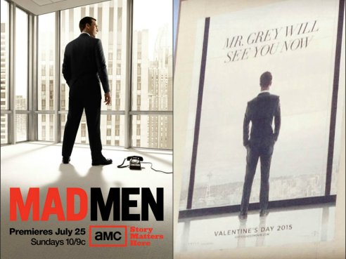 Mad Men & 50 Shades of Grey