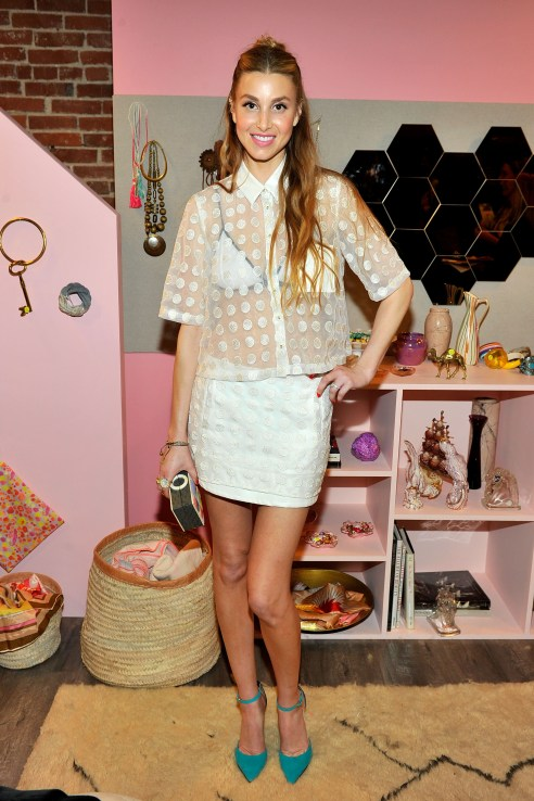 Whitney Port attended the Hunters Alley launch party in downtown Los Angeles. Photo by Donato Sardella/Getty Images for Hunters Alley