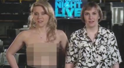 Kate McKinnon & Lena Dunham