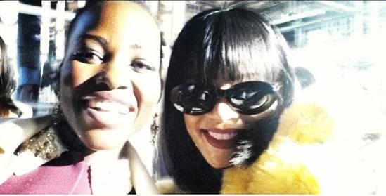 Lupita Nyong'o & Rihanna