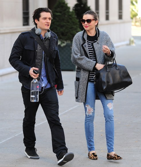 Celebrity Sightings In New York City - December 13, 2013