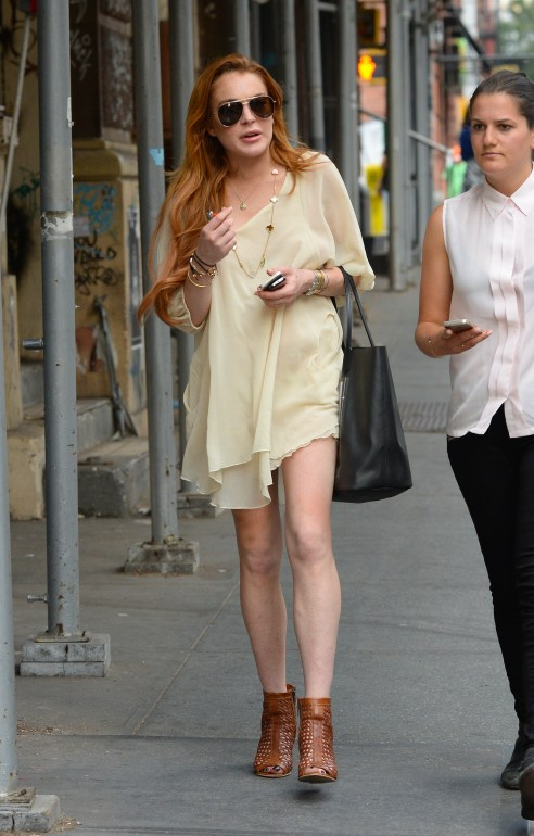 Celebrity Sightings In New York City - July 01, 2014