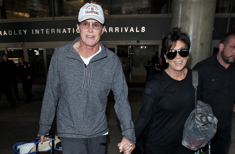 Kris Jenner, Bruce Jenner Divorce