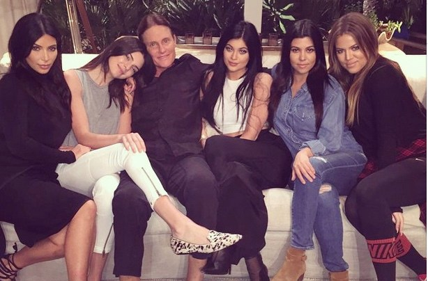 Bruce Jenner Family Support