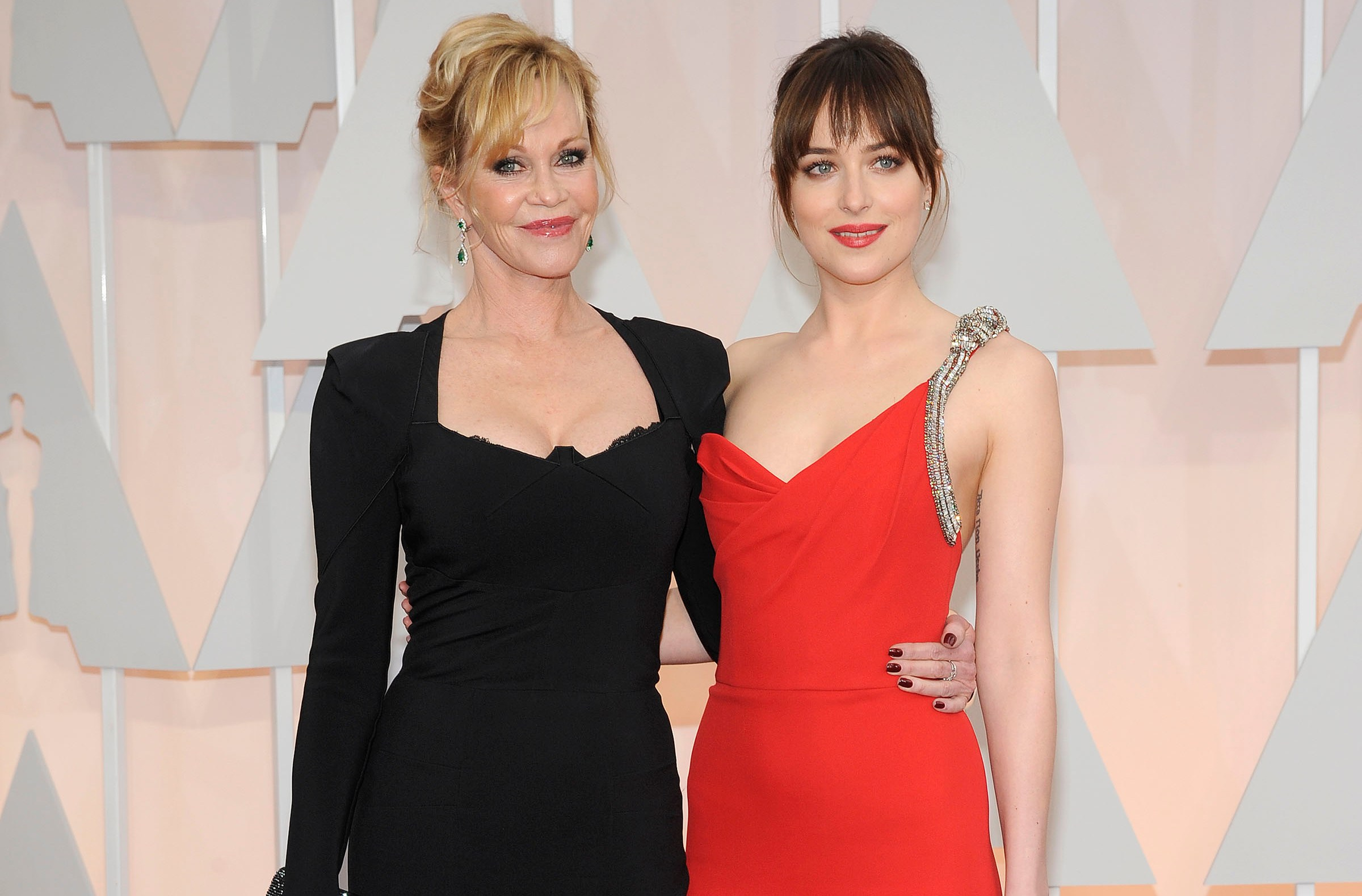 Dakota Johnson, Melanie Griffith Fight