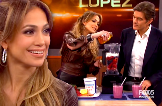 Jennifer Lopez Dr. Oz BodyLab