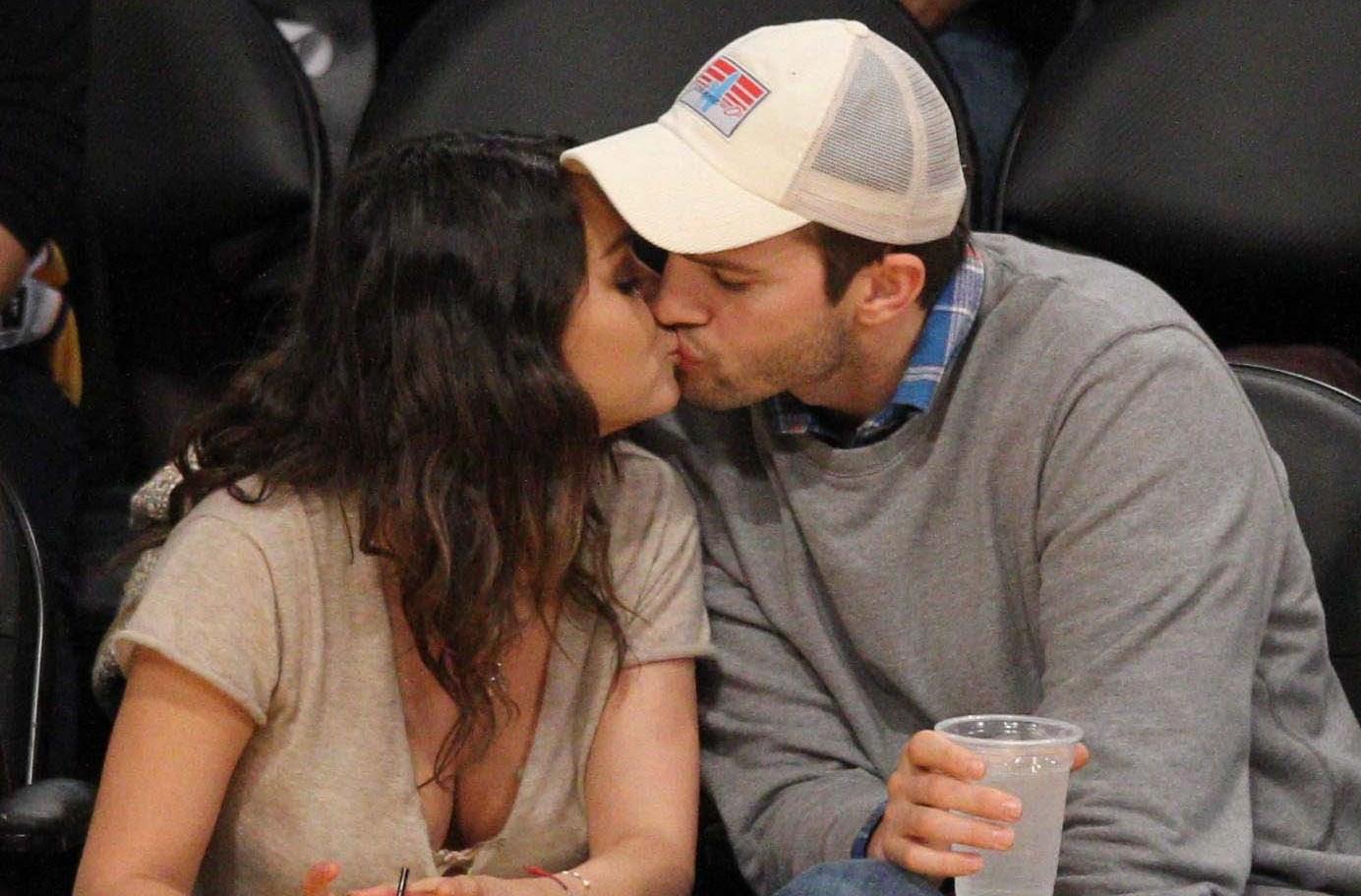 Mila Kunis and Ashton Kutcher costars
