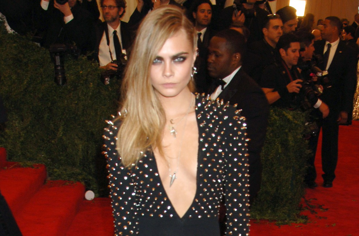 Cara Delevingne Fight