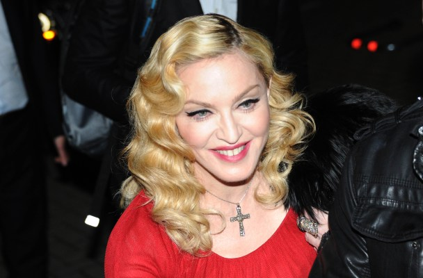 Madonna in Milan to record the TV program