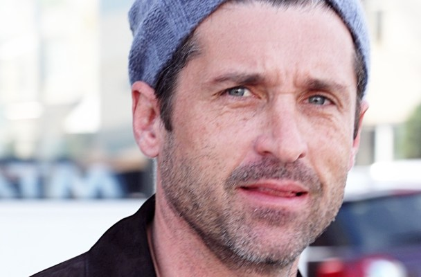 Newly-divorced Patrick Dempsey seen leaving a business lunch in LA