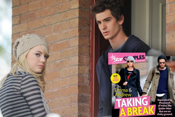 Emma Stone Andrew Garfield Split