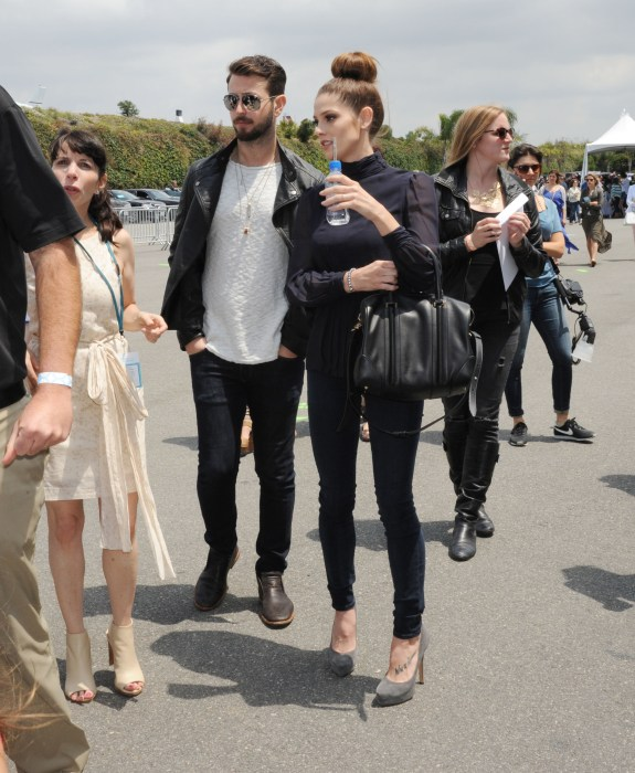 Ashley Greene and Paul Khoury arrive at Ovarian Cancer Research Fund's 2nd Annual Super Saturday LA