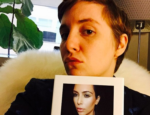 lena-dunham-kim-kardashian-book-selfish