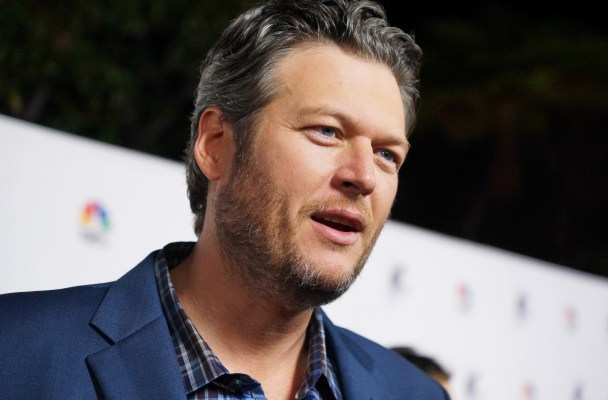 NBC's 'The Voice' Season 7 Red Carpet Event at HYDE Sunset: Kitchen + Cocktails on December 8, 2014 in West Hollywood, California.  Pictured: Blake Shelton Ref: SPL909279  081214   Picture by: Mike Danenberg/Press Line Photos/Splash News  Splash News and Pictures Los Angeles:	310-821-2666 New York:	212-619-2666 London:	870-934-2666 photodesk@splashnews.com