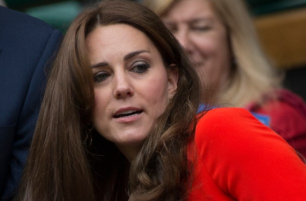 Philip Brook and Kate Middleton attend day nine of the Wimbledon Lawn Tennis Championships at the All England Lawn Tennis and Croquet Club on July 8, 2015 in London, England  Pictured: Kate Middleton Ref: SPL1074003  080715   Picture by: Splash News  Splash News and Pictures Los Angeles:	310-821-2666 New York:	212-619-2666 London:	870-934-2666 photodesk@splashnews.com
