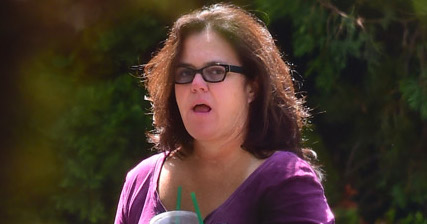 EXCLUSIVE: Rosie O'Donnell flashed a quick smile as she stepped out in Nyack, NY for a Starbucks run. She waved to the camera's as she hopped out of her car on the solo coffee run. It is the first time she has been seen since the arrest of Steven Sheerer, a 25 year old man charged in the disappearance of her daughter Chelsea. She appeared to be relieved to have her daughter home.  Pictured: Rosie O'Donnell Ref: SPL1107573  220815   EXCLUSIVE Picture by: 247PAPS.TV / Splash News  Splash News and Pictures Los Angeles:310-821-2666 New York:212-619-2666 London:870-934-2666 photodesk@splashnews.com