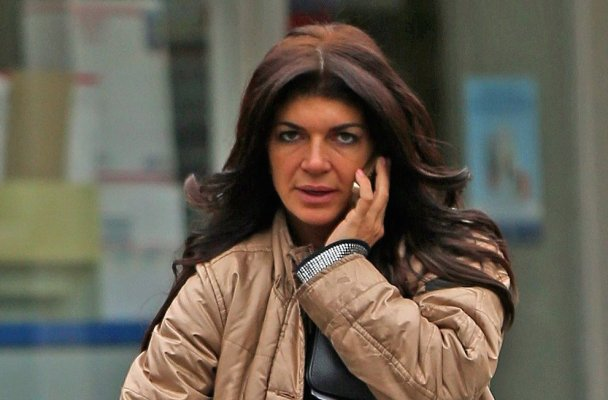 EXCLUSIVE: Teresa Giudice enjoys her last days of freedom before having to start jail time in federal prison. The Real Housewives of New Jersey star is seen on the morning of Saturday January 3rd with her daughter as they leave a post office near their home in Towaco, New Jersey. Teresa is due to start jail on Monday.  Pictured: Teresa Giudice Ref: SPL920489  040115   EXCLUSIVE Picture by: Splash News  Splash News and Pictures Los Angeles:	310-821-2666 New York:	212-619-2666 London:	870-934-2666 photodesk@splashnews.com
