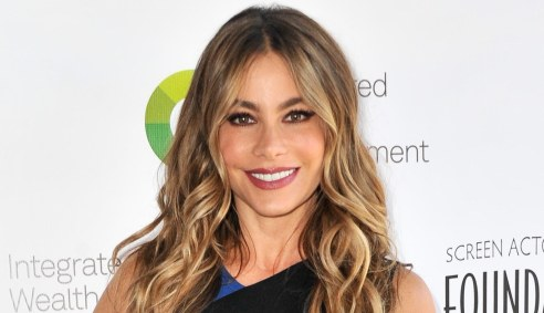 BURBANK, CA - JUNE 08: Actress Sofia Vergara arrives at The SAG Foundation's 6th Annual Los Angeles Golf Classic on June 8, 2015 in Burbank, California. (Photo by Allen Berezovsky/WireImage)