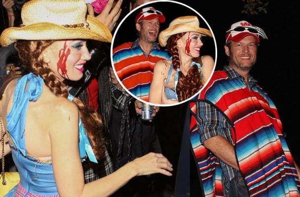 blake-shelton-gwen-stefani-halloween-party-together-feature