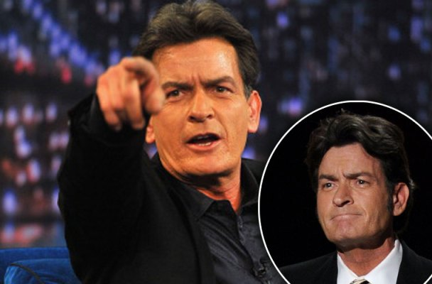 charlie sheen hiv positive leaving country