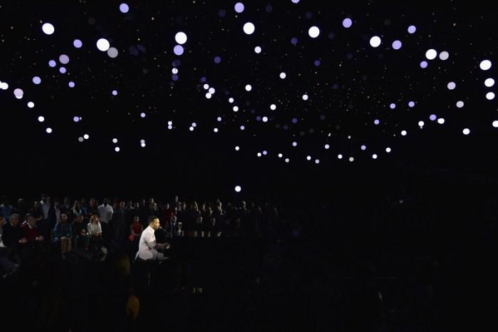 John Legend Performs