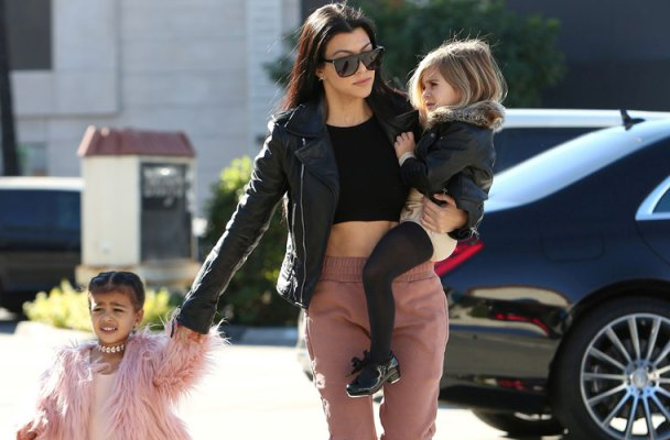 kourtney kardashian north west penelope disick ballet