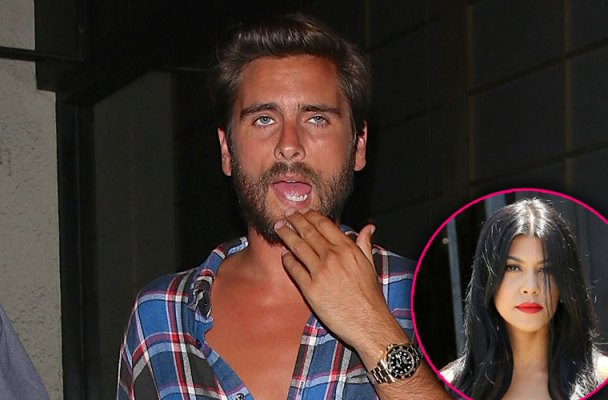 scott disick rehab new years eve party wild