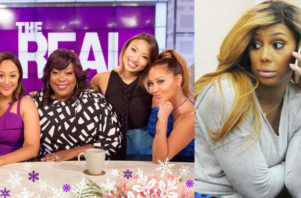 Tamar Braxton Fighting With 'The Real' Producers