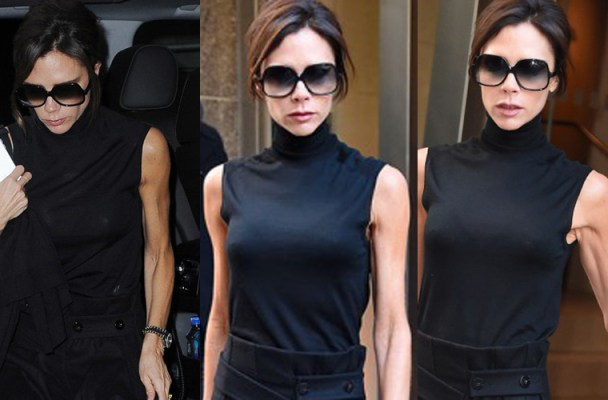 **USA ONLY** New York, NY - Victoria Beckham is looking stylish and classy as she heads to a meeting in New York City.  AKM-GSI          December 8, 2015  **USA ONLY**  To License These Photos, Please Contact :  Steve Ginsburg (310) 505-8447 (323) 423-9397 steve@akmgsi.com sales@akmgsi.com  or  Maria Buda (917) 242-1505 mbuda@akmgsi.com ginsburgspalyinc@gmail.com