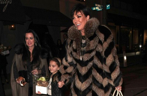 kyle richards celebrates birthday friends kris jenner
