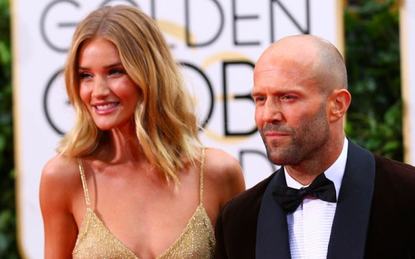 Rosie Huntington Whiteley Engaged To Jason Statham
