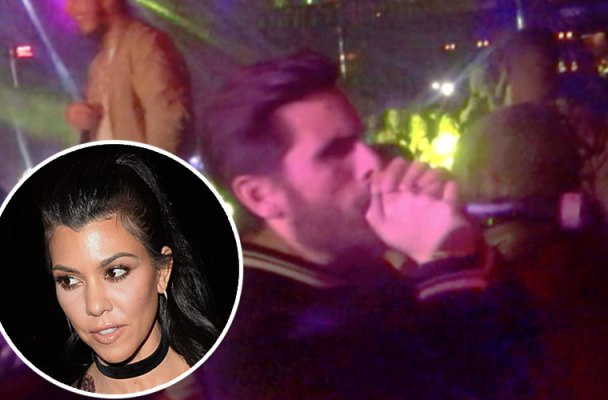 scott disick rehab drinking drunk calls kourtney kardashian