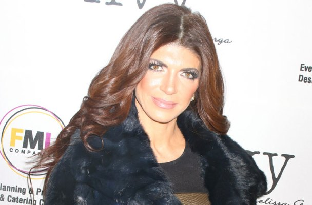 teresa giudice prison release back to jail pulled over
