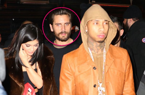 scott disick rehab relapse party tyga kylie jenner photos