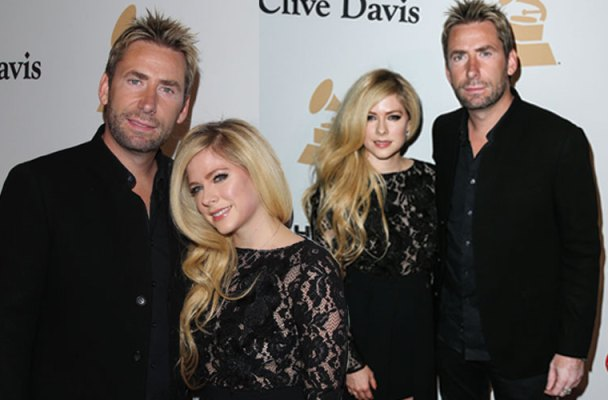 Avril Lavigne Chad Kroeger Divorce Reunite Grammy Gala Ryan Cabrera Mystery Girl