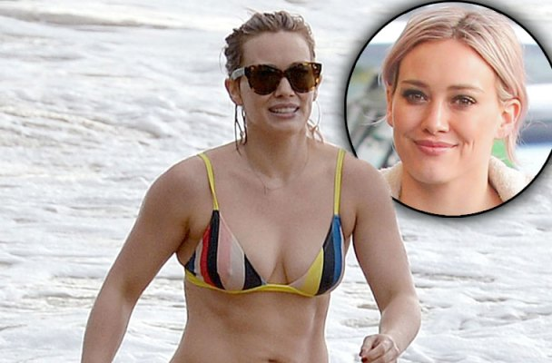 Hilary Duff Mike Comrie Divorce Hawaii Vacation Pics