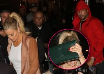 Khloe Kardashian and French Montana leave Ace of Diamonds strip club in LA  Pictured: Khloe Kardashian, French Montana Ref: SPL1223339  090216   Picture by: LA Photo Lab / Splash News  Splash News and Pictures Los Angeles:	310-821-2666 New York:	212-619-2666 London:	870-934-2666 photodesk@splashnews.com