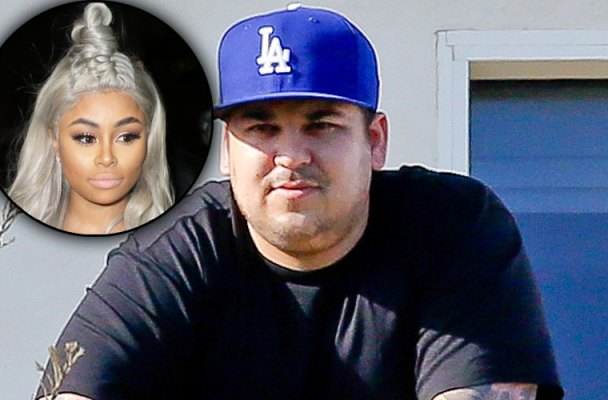 rob kardashian blac chyna dating arrest together