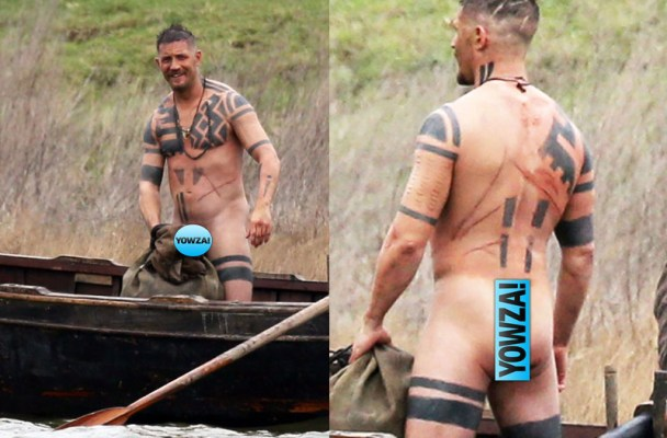 Tom Hardy Nude Photos On 'Taboo' Film Set