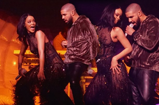 drake rejects rihanna dating on off