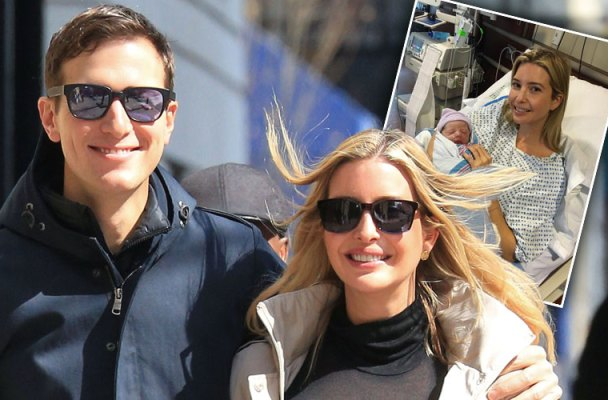 ivanka trump birth baby boy theodore pics