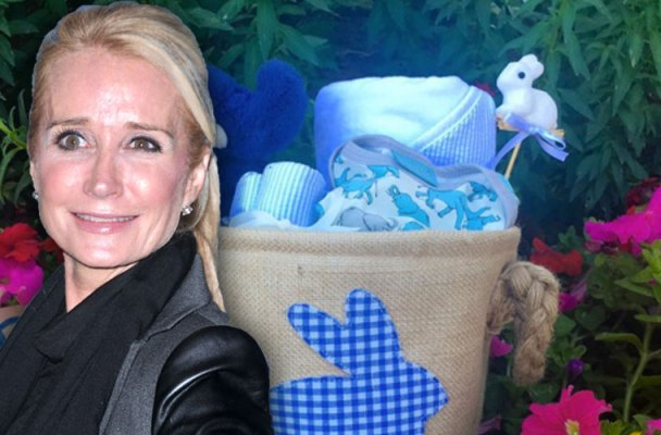 kim richards grandma brooke brinson pregnant son easter