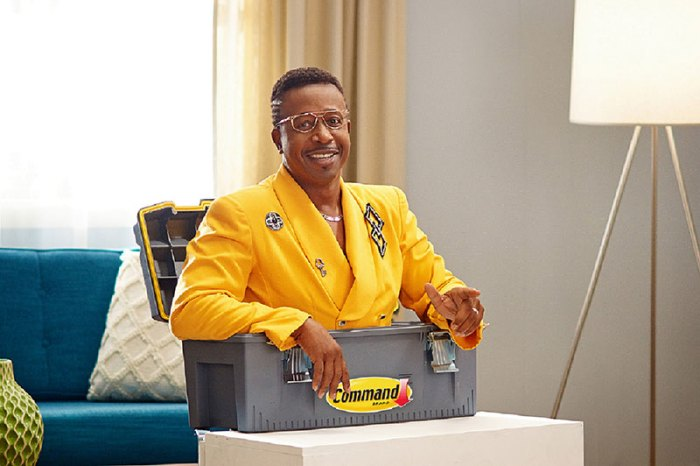 Behind the scenes with MC Hammer on the set of the Command Do. No Harm.Campaignshoot